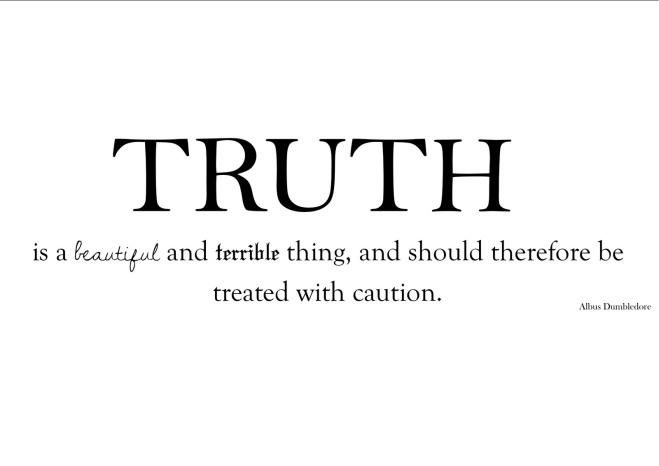 truth - Dumbledore